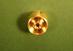 FW12-2 Brass Flywheel 12mm Dia - 2mm Shaft