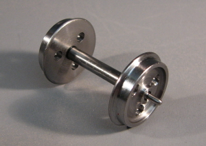7W008 3ft 1in Three Hole Wagon Wheels. Turned Steel COARSE SCALE