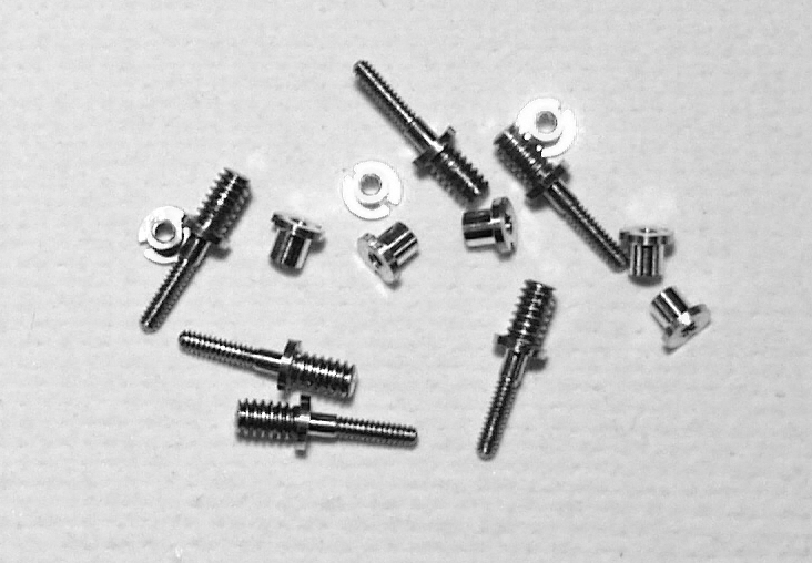 4MA026 DeLuxe Crankpins for Markits and Romford Wheels by Markit