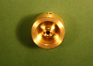 FW17-2 Brass Flywheel 17mm Dia - 2mm Shaft