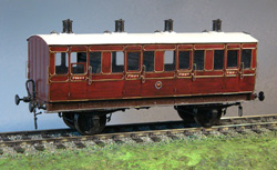 7MM SCALE LBSCR COACHES AND VANS