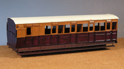 7MM SCALE NARROW GAUGE COACH KITS