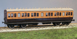 4MM SCALE LSWR NON CORRIDOR STOCK