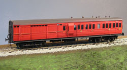 4MM SCALE LSWR NON CORRIDOR COACH KITS