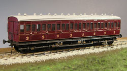 4MM SCALE SECR COACH & VAN KITS