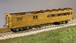 4MM SCALE LSWR CORRIDOR COACHES