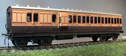 7MM SCALE LSWR COACHES AND VANS
