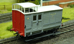 7mm model railway wagon kits