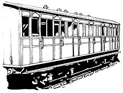 4C123 Metropolitan Railway 7 COMPARTMENT COMPOSITE
