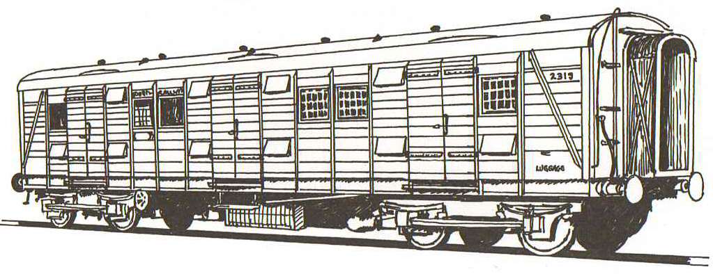 4A250 DETAILING KIT FOR TRIANG/HORNBY UTILITY VAN