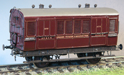 7MM SCALE SECR COACHES AND VANS
