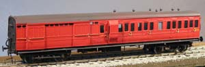 4C22 LSWR 56ft lav BRAKE THIRD