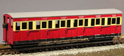 NARROW GAUGE COACH KITS