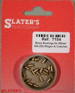 7154 Brass Axle Bearings