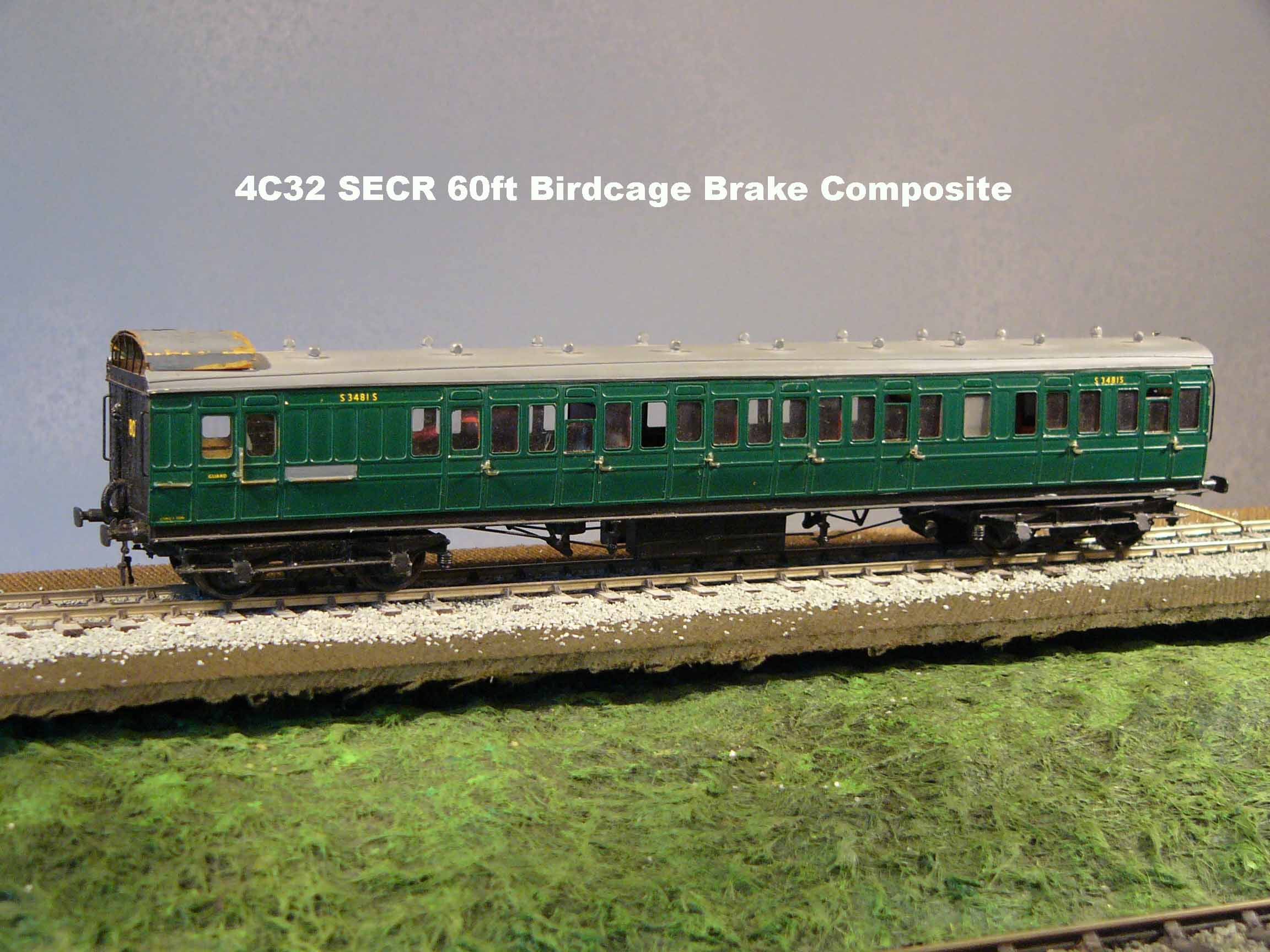 7C32 SECR 60ft Birdcage Brake Composite