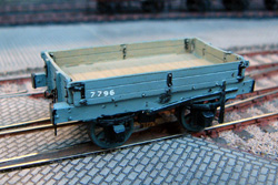 4mm model railway wagon kits